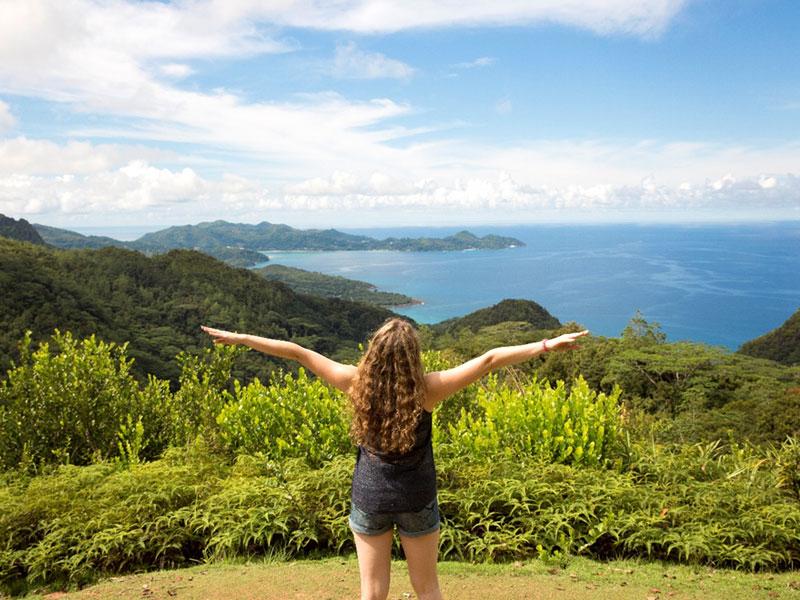 נקודת תצפית על האי מאהה