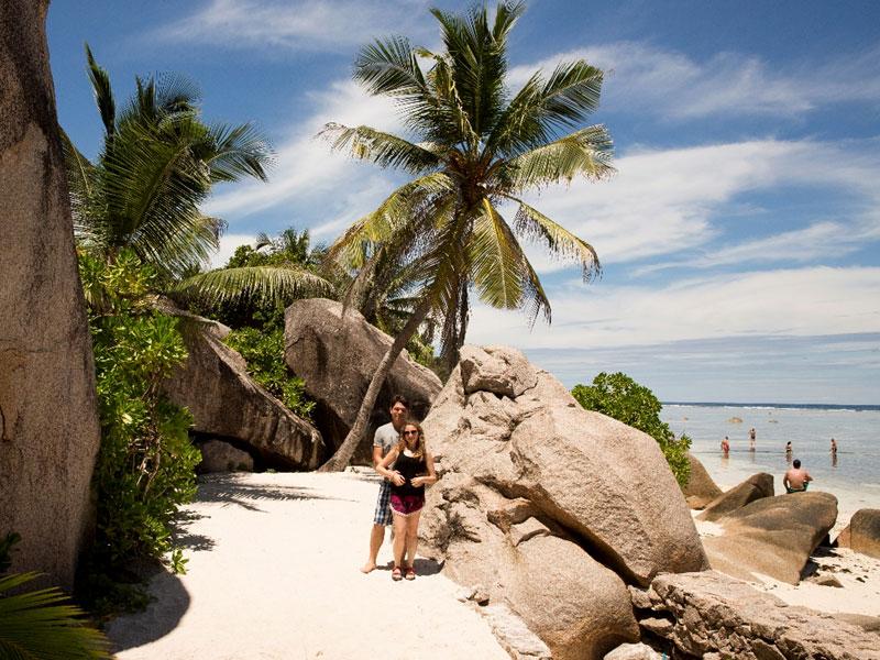 החוף Anse Source D'Argent